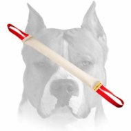 Extra Strong Fire Hose Amstaff Bite Tug with Two Handles for Pro Training