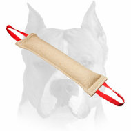 Amstaff High-Quality Bite Tug Made of Jute