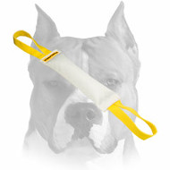 Amstaff Fire Hose Puppy Bite Tug with Handles for Training