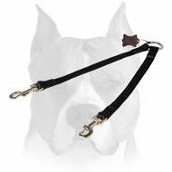 Amstaff Comfortable Walking Coupler Leash for Two Dogs