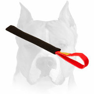 Amstaff Durable Puppy Bite Tug with Handle for Training