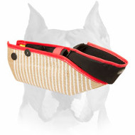 Amstaff Jute Short Dog Sleeve for Bite Training
