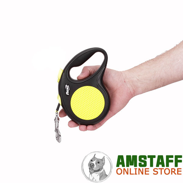 Walking Retractable Leash Neon Style for Total Comfort