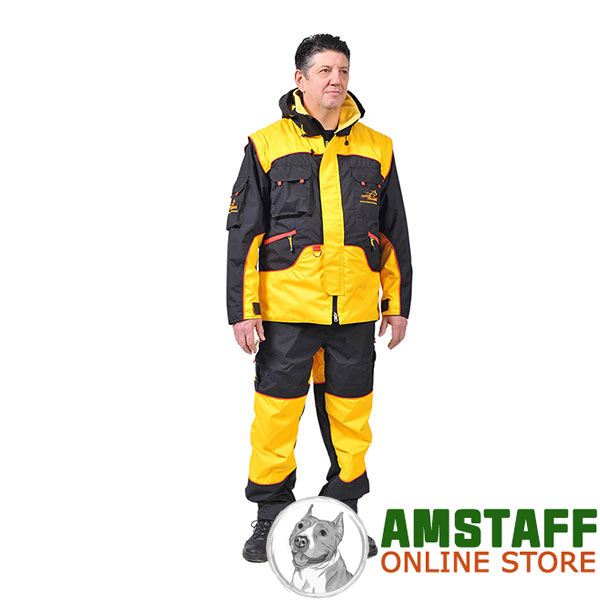 Protection Training Bite Suit of Weatherproof Membrane Fabric
