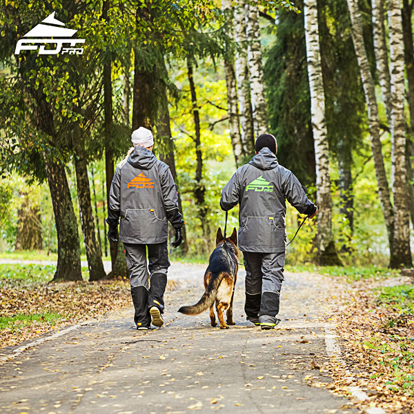 Pro Dog Training Jacket of Fine Quality for Everyday Activities