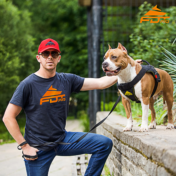 Men T-shirt of Top Notch Cotton with Pro Logo for Dog Training