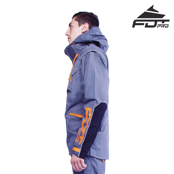 FDT Pro Dog Trainer Jacket of Fine Quality for Any Weather Use