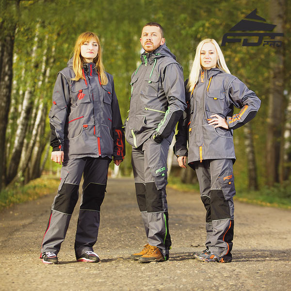 High Quality Dog Training Suit for All Weather Conditions