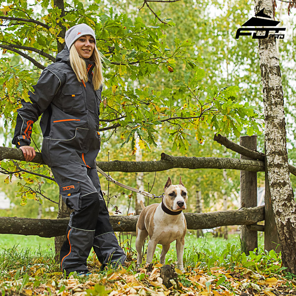 Unisex Design Pants with Comfortable Side Pockets for Active Dog Training