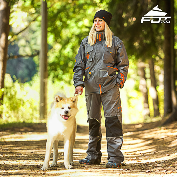 Men and Women Design Dog Tracking Jacket of Top Quality Materials