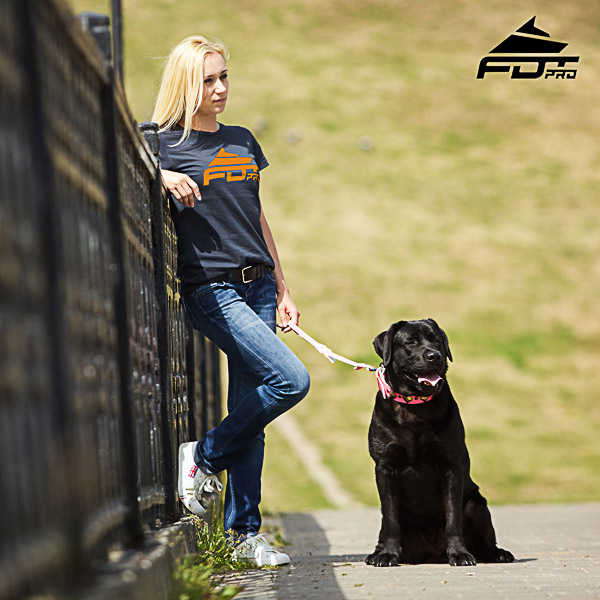 Women T-shirt of Reliable Cotton for Dog Training