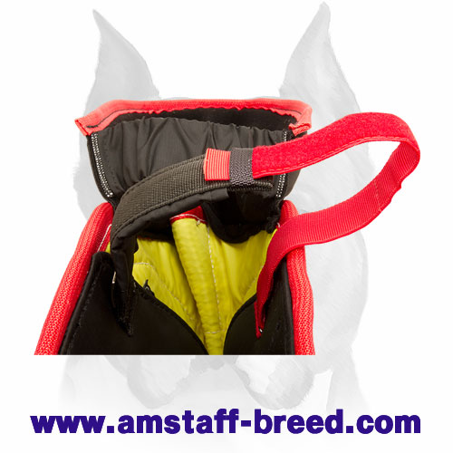 Amstaff strong Jute bite protection sleeve with soft interior