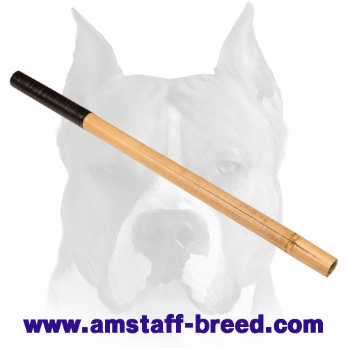 Amstaff solid Bamboo stick for making noises