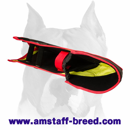 Solid bite dog sleeve for Amstaff breed