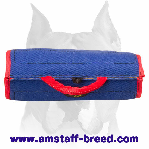 Amstaff young and adult dog bite builder sleeve for training