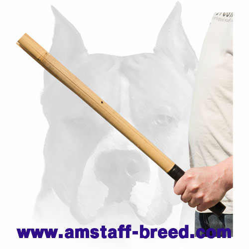 Amstaff Bamboo stick for making noise while training