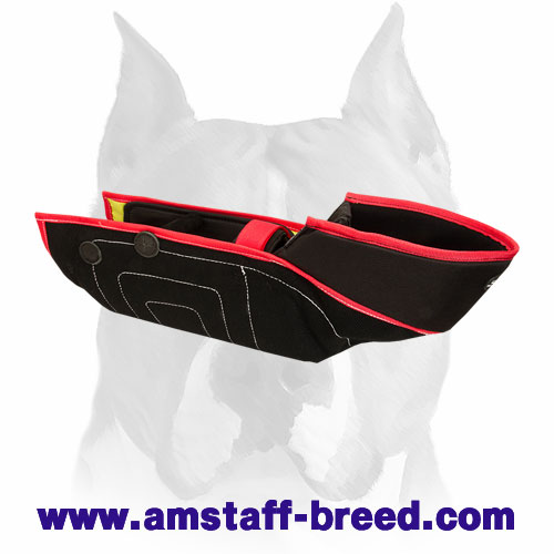 Amstaff reliable bite sleeve with soft interior