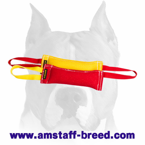Training set of 2 bite tugs for Amstaff