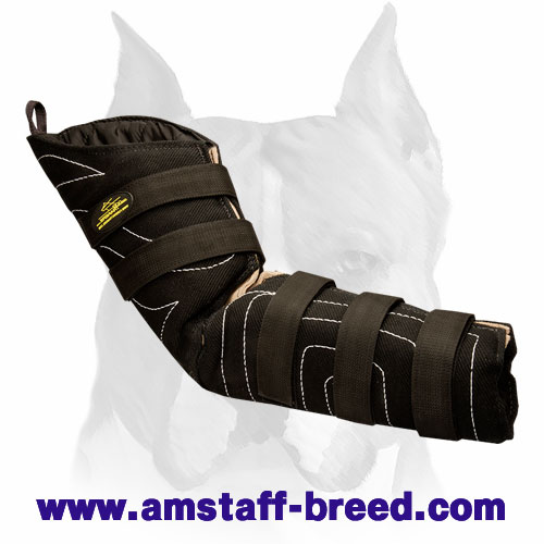 Amstaff comfortable snug fit hidden protection bite sleeve