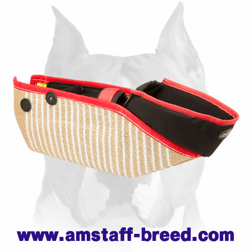 Amstaff strong Jute bite protection sleeve