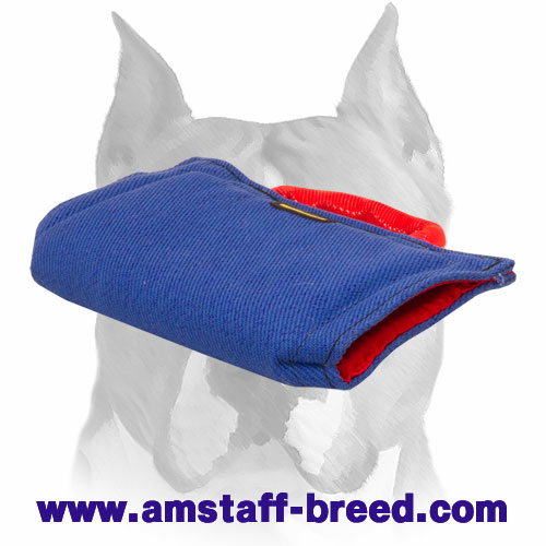 Amstaff French linen puppy sleeve for bite training