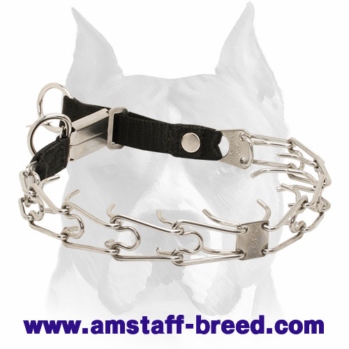 Herm Sprenger Amstaff Collar with Nylon Loop