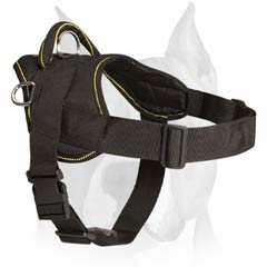 Nylon harness for walking and pulling