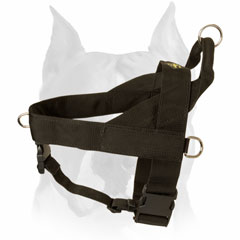 Nylon dog harness for many kinds of traning