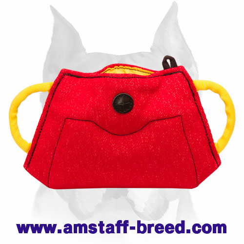 Amstaff French Linen Bite Builder for Training Puppies