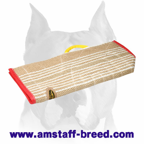 Safe and Durable Jute Cover for Amstaff Bite Sleeves