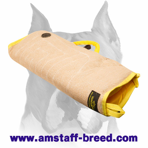 Amstaff Solid Jute Puppy Bite Sleeve for Training