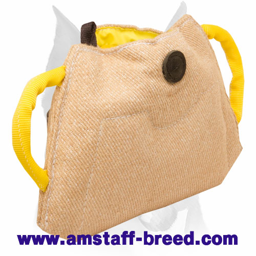 Amstaff Jute Bite Builder for Training Puppies and Young Dogs