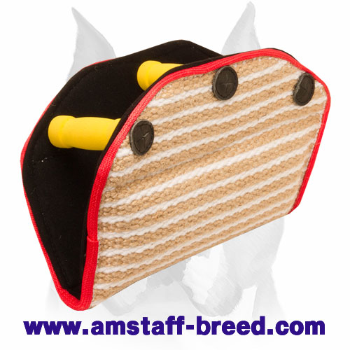 Amstaff Strong Jute Advanced Puppy Bite Builder for Training