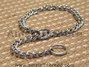 Choke dog collar/slip dog collar