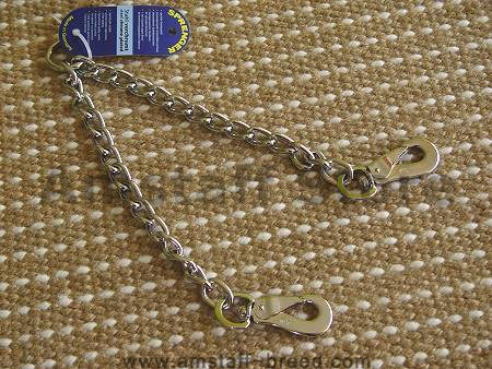 dog leasg- copulper dog leash for 2 dogs